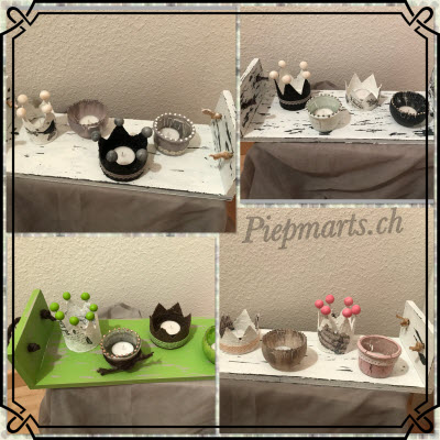 Shabby-Chic Adventskranz
